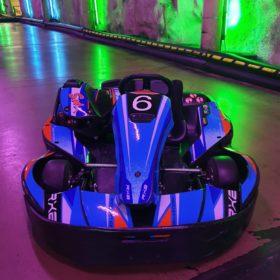 Kartingauto edestä Formula Center Helsinki